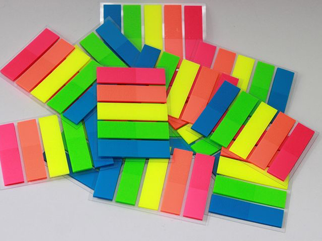 Renkli PVC Ayraç - PST 525