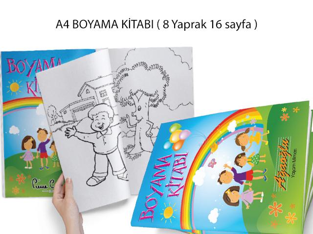 Boyama Kitabı ( 21x29,7 cm ) - MB 12