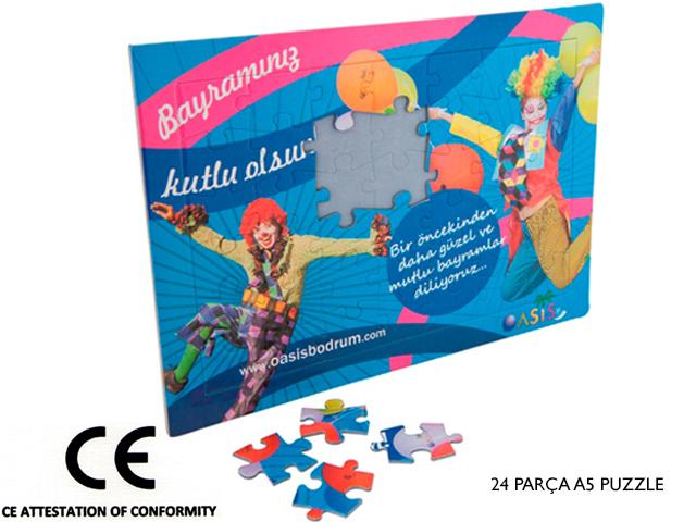 A5 Puzzle 24 Parça Yapboz (puzzle) - MB 16