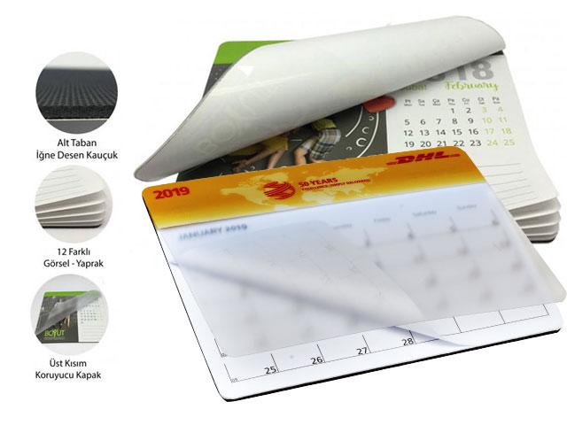 Takvimli 12 Sayfa Mouse pad - MP 5